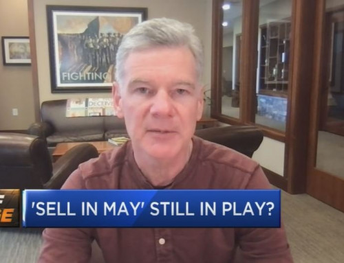 """What about the old saying """"Sell in May and go away"""""""